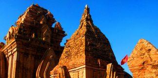 Nằm trên đồi Bà Nài, Tháp Chàm còn tương đối nguyên vẹn là một nhóm di tích các đền tháp còn sót lại của Vương Quốc Chăm Pa xưa