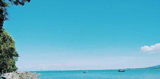 hình ảnh bãi rạn nam ô
