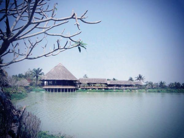 làng dân tộc Củ chi vùng tây nguyên thu nhỏ