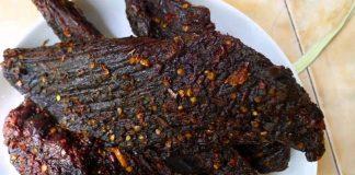 đặc sản thịt trâu gác bếp