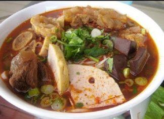 Cách nấu bún bò Huế đơn giản chuẩn vị miền Trung