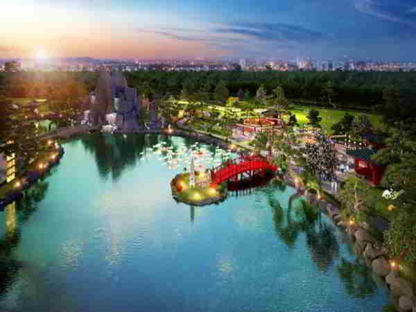 Ngắm cảnh vườn Nhật Bản đẳng cấp hàng đầu Đông Nam Á tại Hà Nội