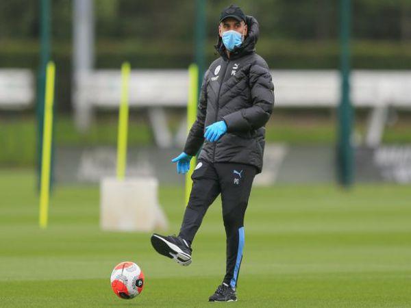 Guardiola mừng khi cùng Man City trở lại sau dịch Covid-19