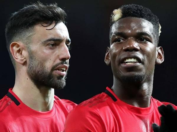 Bóng đá Anh 9/6: Bruno Fernandes và Paul Pogba khó đá cặp