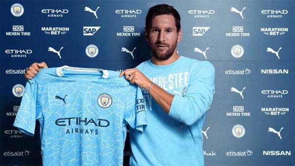 Man City thuyết phục Messi với hợp đồng 5 năm cực hấp dẫn