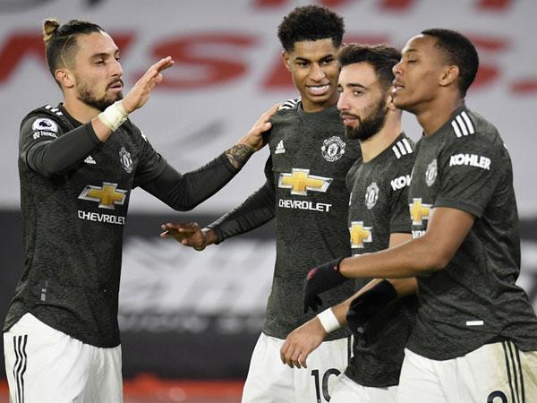 Bóng đá Anh 18/12: MU lội ngược dòng thành công trướcSheffield United
