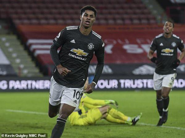 Bóng đá Anh chiều 18/12: Rashford chạm mốc ghi bàn ấn tượng
