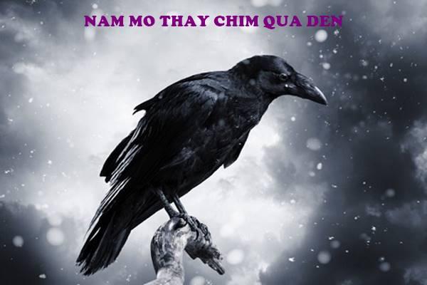 Nằm mơ thấy quạ đen nên đánh con số gì